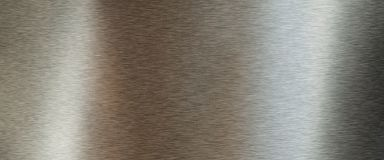 Золотая почищенная щеткой текстура металла Стоковые Изображения RF