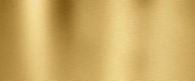 Золотая предпосылка текстуры металла стоковое фото
