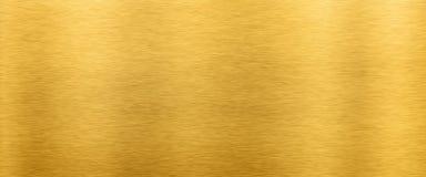 Золотая предпосылка текстуры металла стоковая фотография rf