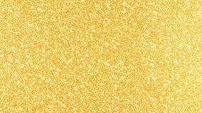 Золотая предпосылка яркого блеска в высоком фоне золота разрешения с отражениями видеоматериал