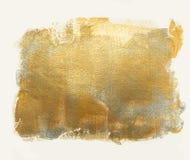Золотая серебряная акриловая предпосылка Стоковое Фото