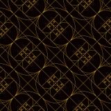 Золотая спиральная золотая картина коэффициента стоковые фотографии rf