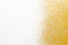 Золотая текстура песка яркого блеска, абстрактная предпосылка стоковое фото rf