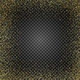 Золотая текстура яркого блеска на изолированной предпосылке Дождь золотой Взрыв confetti золота вектор изображения иллюстрации эл иллюстрация штока
