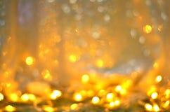 Золотая текстура Colorfull яркого блеска запачкала абстрактную предпосылку для дня рождения, годовщины, свадьбы, кануна Нового Го Стоковое Фото
