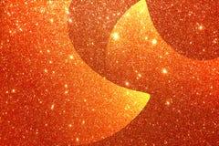 Золотая текстурированная предпосылка с предпосылкой влияния яркого блеска бесплатная иллюстрация
