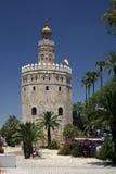 золотистая башня Стоковые Фотографии RF