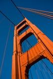 золотистая башня Стоковые Изображения RF
