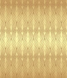 Золотистая безшовная предпосылка Стоковая Фотография RF