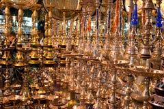 золотистая вода трубы рынка Стоковая Фотография