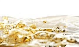 золотистая вода Стоковая Фотография