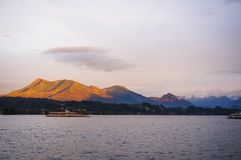 Золотистая гора Стоковое фото RF