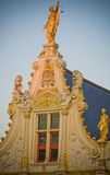 Золотистая дом Стоковая Фотография