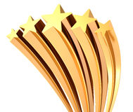 золотистая звезда бесплатная иллюстрация