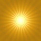 Золотистая звезда Стоковые Фотографии RF