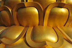 Золотистая картина Стоковые Изображения RF