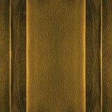 Золотистая кожаная предпосылка Стоковые Фото