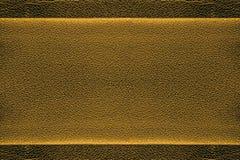 Золотистая кожаная предпосылка Стоковое Изображение RF