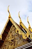 золотистая крыша стоковое изображение
