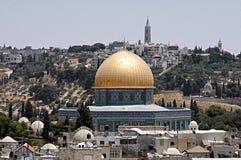 золотистая мечеть Стоковые Фото