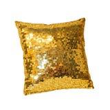золотистая подушка Стоковые Изображения RF