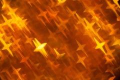 Золотистая предпосылка в перекрестной форме формы Стоковые Изображения RF