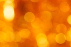 Золотистая предпосылка круга Стоковая Фотография RF