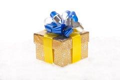 Золотистая предпосылка рождества Стоковое Фото