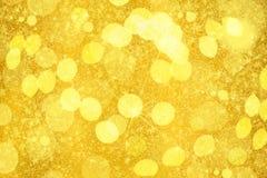 Золотистая предпосылка Стоковое Изображение
