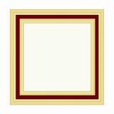 Золотистая рамка Стоковое Изображение RF