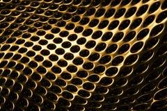 золотистая решетка Стоковые Фото