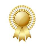 Золотистая розетка Стоковое Изображение RF