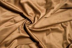 золотистая сатинировка Стоковая Фотография RF