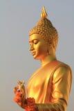 Золотистая статуя Будды Стоковое Фото