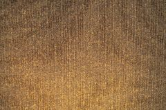 Золотистая текстура ткани Brown Стоковые Фото