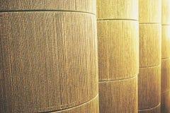 Золотистая текстура ткани Brown Стоковое фото RF