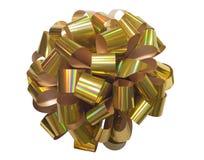 золотистая тесемка Стоковое Изображение RF