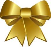 золотистая тесемка Стоковая Фотография RF