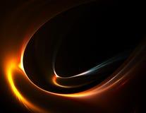 золотистое движение Стоковая Фотография RF