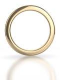Золотистое кольцо Стоковые Фото