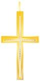 Золотистое перекрестное pendent Стоковые Фотографии RF