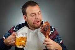 Золотистое пиво Стоковые Фотографии RF