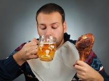 Золотистое пиво Стоковое Фото