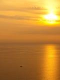золотистое сияние Стоковые Фото