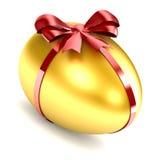 Золотистое яичко иллюстрация штока