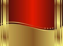 золотистое backround классицистическое Стоковые Фотографии RF