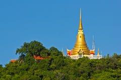 золотистое samui pagoda koh Стоковое Изображение