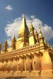 золотистое stupa vientiane lao Стоковое Изображение RF