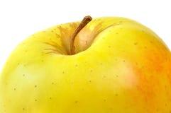 Золотисто - очень вкусный яблоко Стоковые Изображения RF