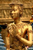 золотисто ramakien статуя Стоковая Фотография RF